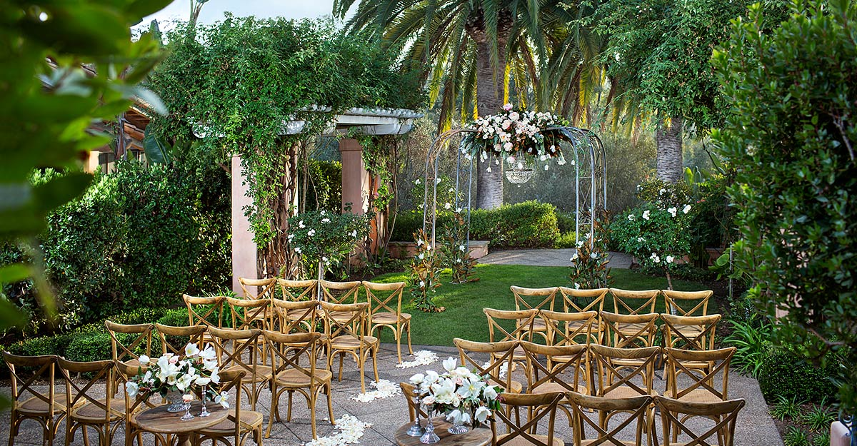 Perfect San Diego Wedding Reception Venues Rancho Valencia Weddings